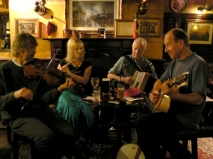 Session in The Lamb, Oxenhope